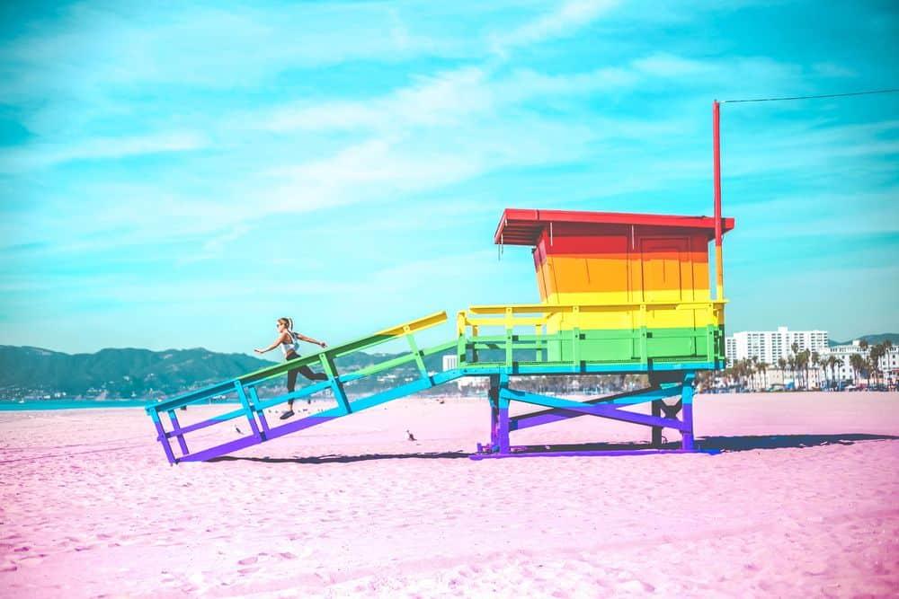 גאווה, חוף וניס, סוכת מציל, לוס אנג'לס