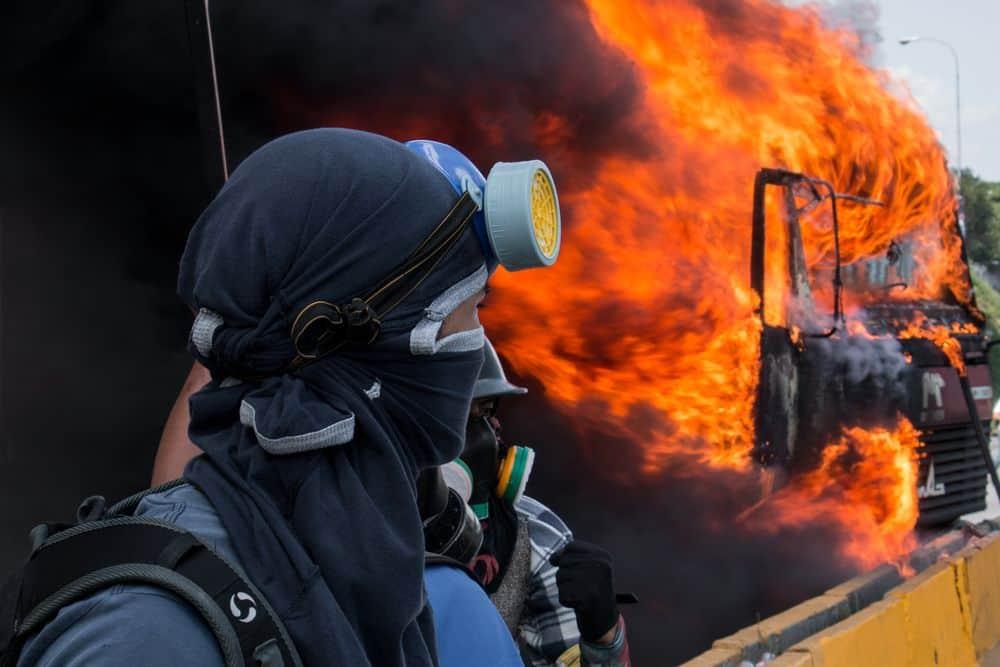 ונצואלה, מחאה