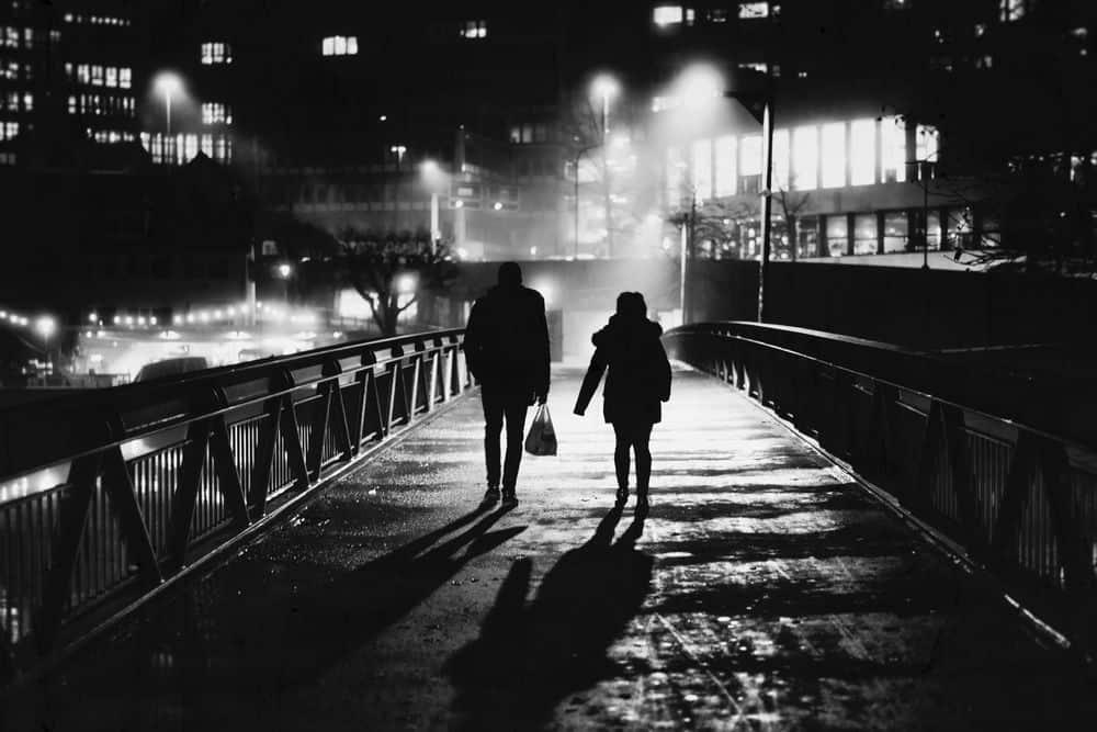 ציריך, גשר, לילה