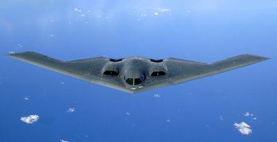 בי-2, מפציץ, האוקיינוס השקט