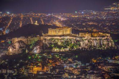 פרתנון, אקרופוליס, יחס הזהב, אתונה