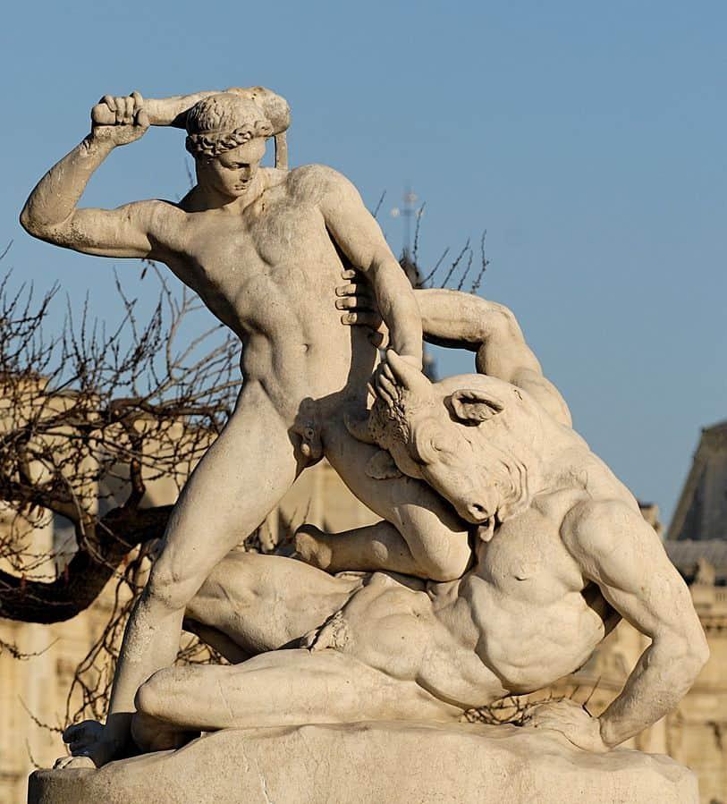 תזאוס לוחם במינוטאור, ז'יל רמי, טווילרי