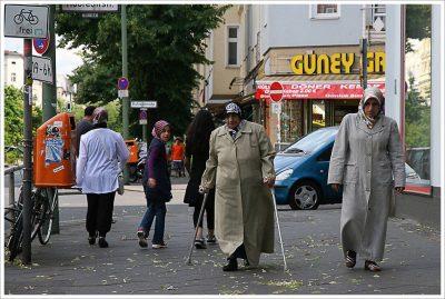 ברלין, מוסלמים, תורכים