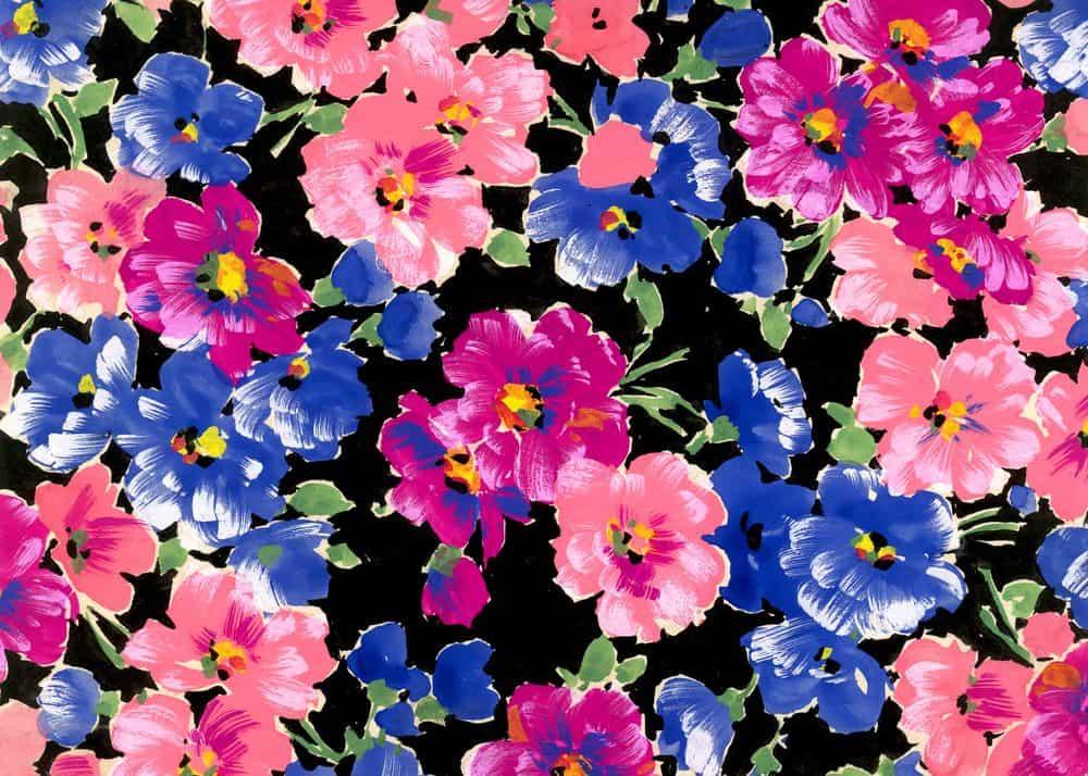 פרחים, טקסטיל, שואה