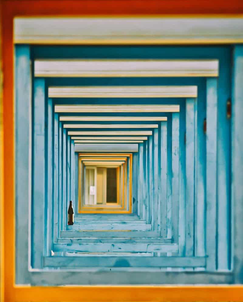 חוף רחצה, איטליה, הרמוניה, פרספקטיבה
