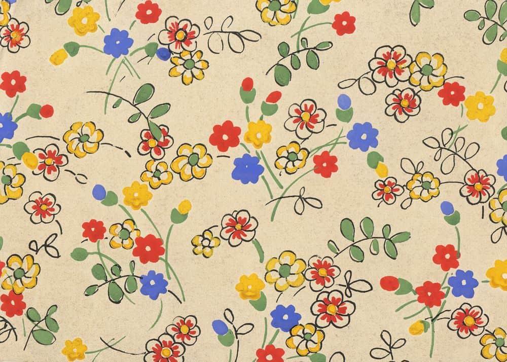 פרחים, טקסטיל, שואה, בלגיה, 1942