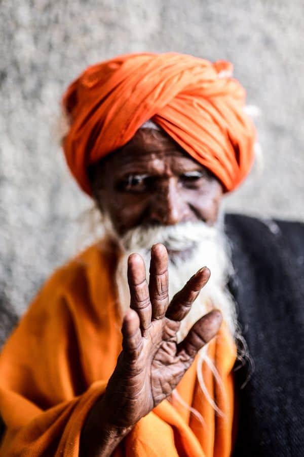 זקן, הודו