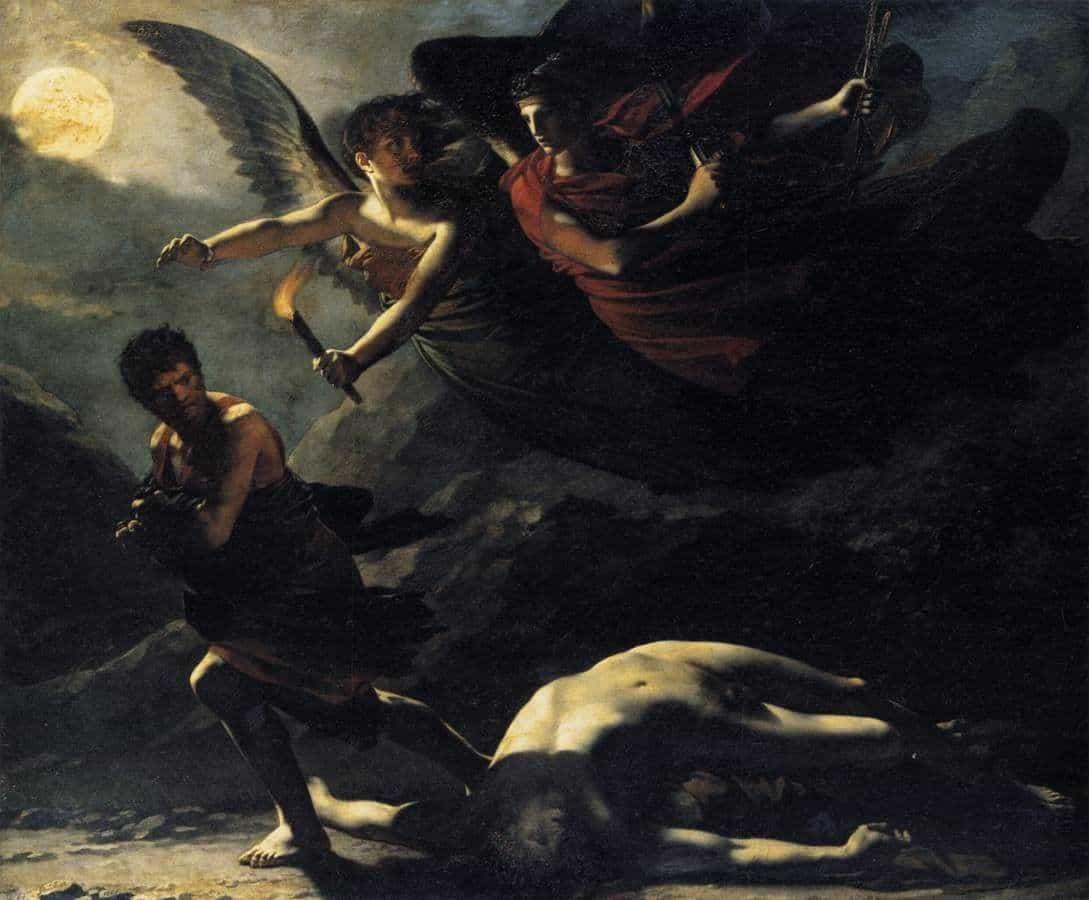 פייר-פול פרוד'און, צדק ונקמה אלוהית