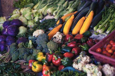 ירקות, שוק