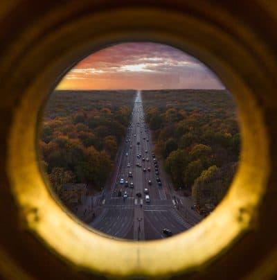 ברלין, כביש, מבט