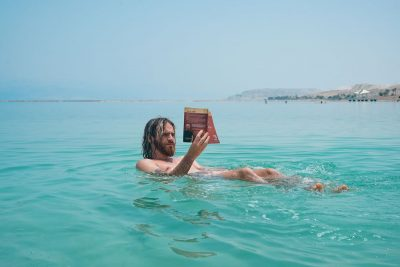 קורא, ספר, ים המלח