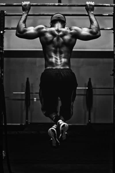 מוח, גוף, כושר, התעמלות, גבר צעיר