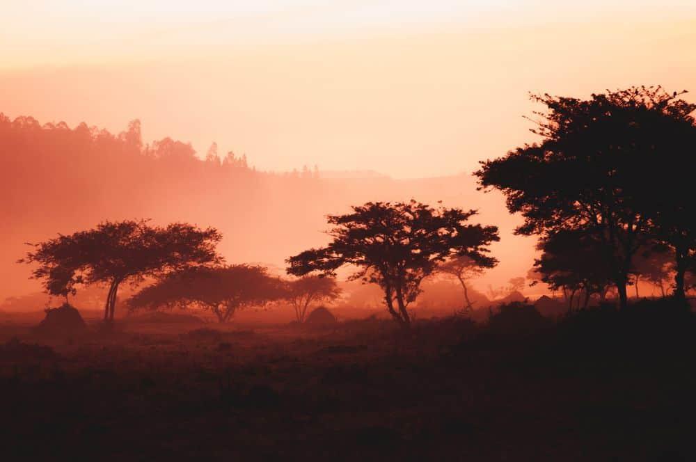 רואנדה, קיגאלי, דמדומים