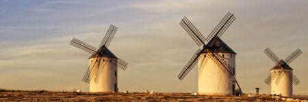 טחנות רוח, טחנת רוח, לה מנצ'ה