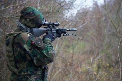 רובה, כוונת, ירי, מטרה, איום