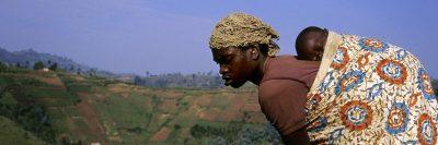 רואנדה, אם, שדה, תינוק