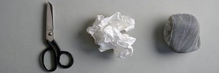 אבן, נייר, מספריים