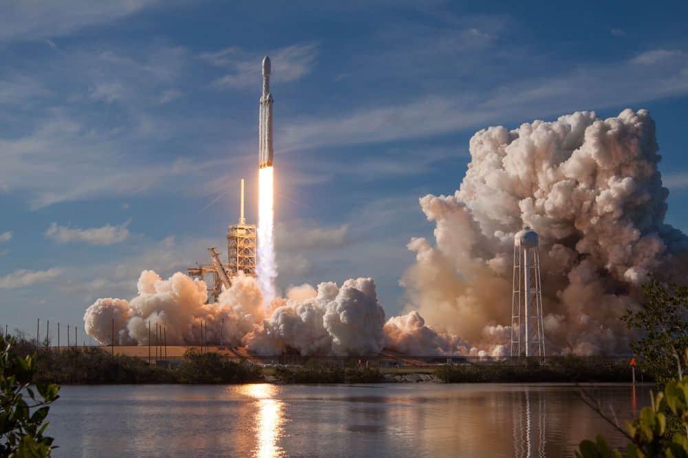 SpaceX, פלקון, טיל, שיגור, חלל