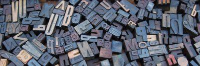 אותיות עץ, הדפסה, דפוס
