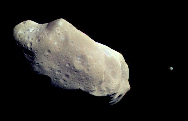 """234Ida, אסטרואיד, גלילאו, נאס""""א"""