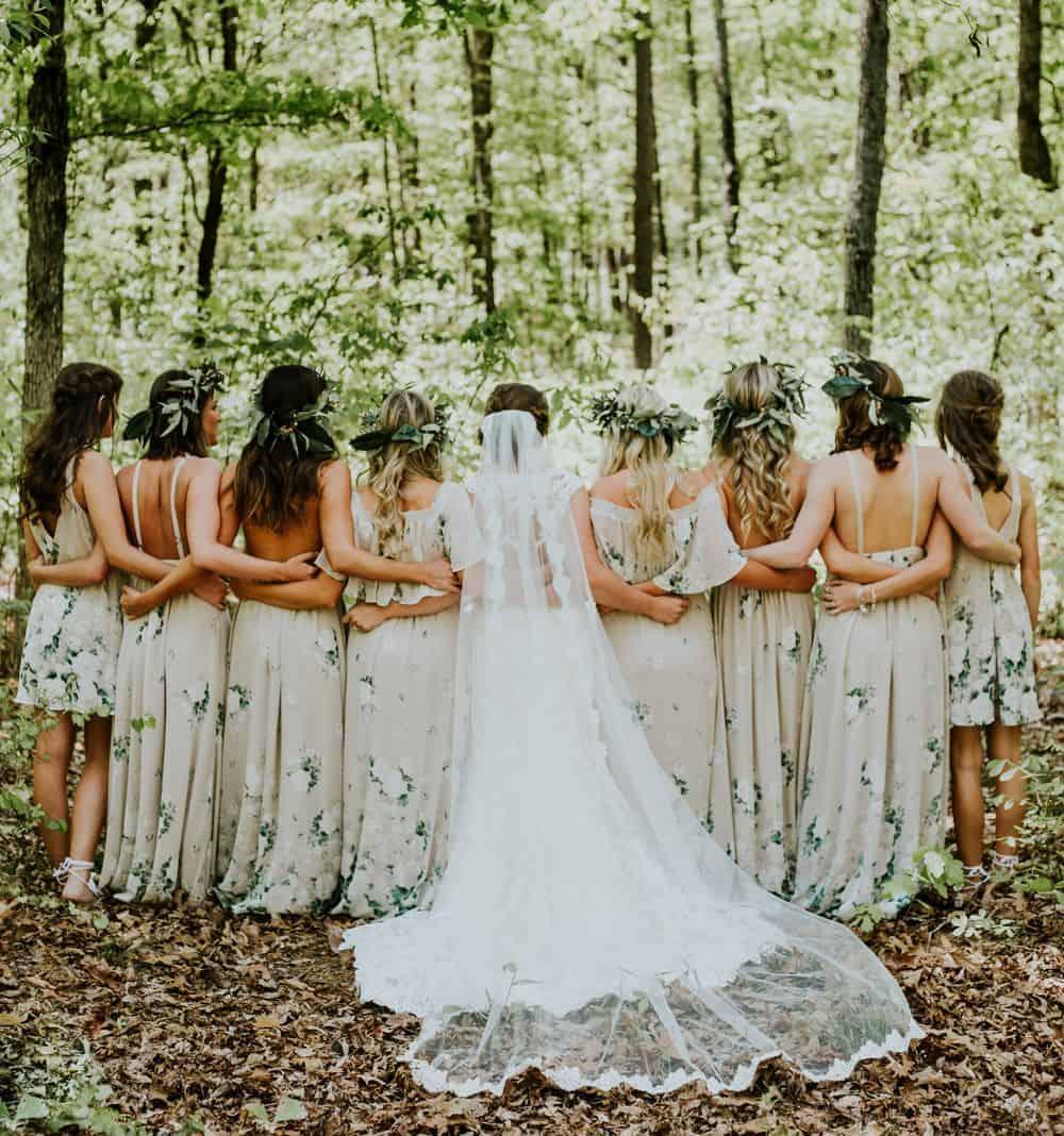 כלה, שושבינות, חתונה
