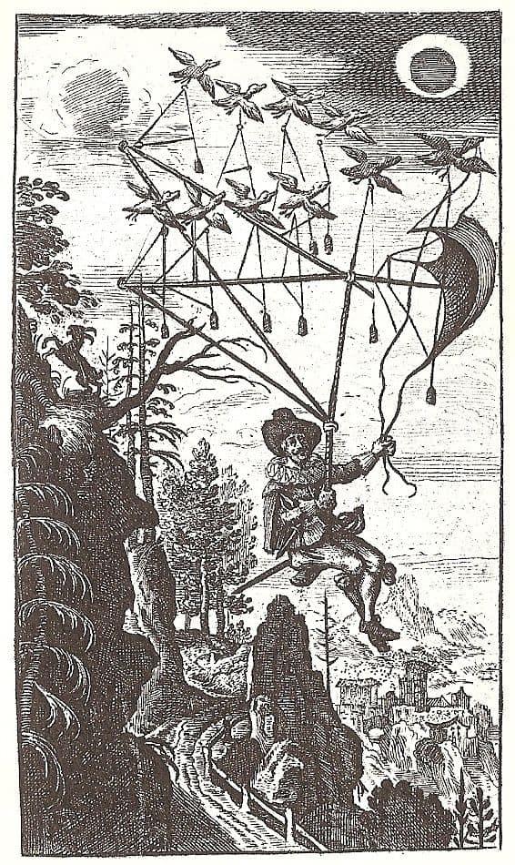 פרנסיס גודווין, האדם על הירח