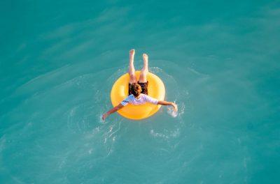 אושר, גלגל ים, ים, ציפה, לצוף, נופש