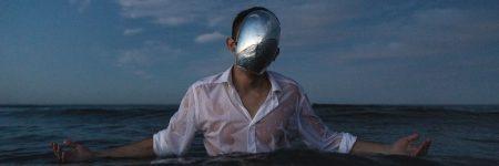 נשמה, איש בים, מסיכה, מסכה, זרועות פרושות