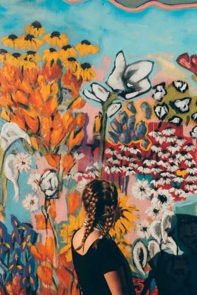 פרחים, צבעים, נערת פרחים