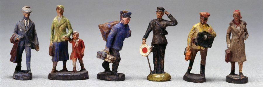 צעצועים, גרמניה, נאצים, 1936, תחנת רכבת