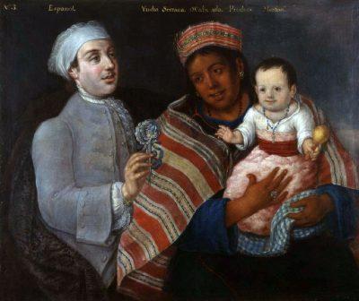פרו, בני תערובת, ילידים, ספרד