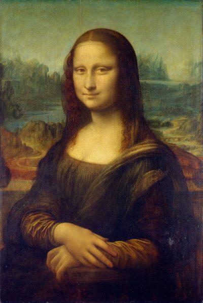 מונה ליזה, ליזה גררדיני, לאונרדו דה וינצ'י