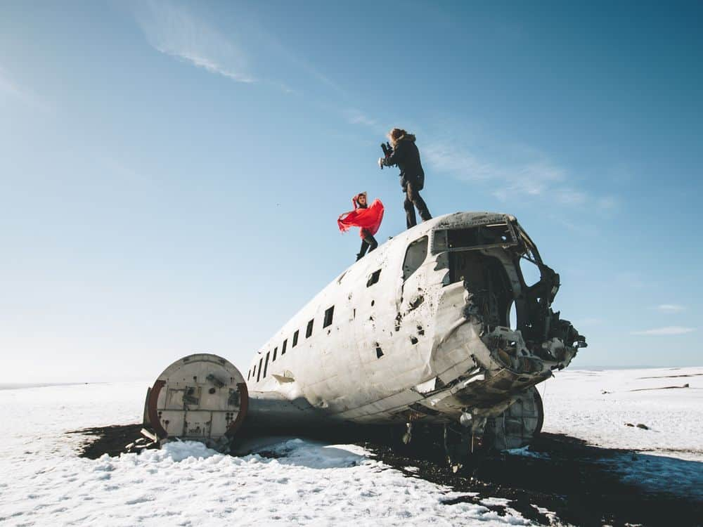 מטוס, התרסקות, איסלנד, DC-3