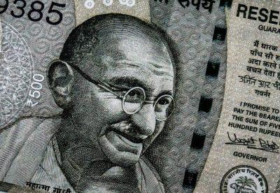 רופיות, שטר, מהטמה גנדי