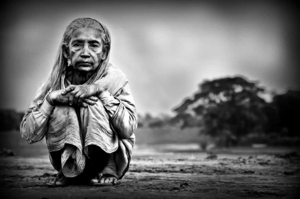 בנגלדש, אישה, זקנה