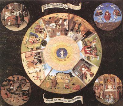 שבעת החטאים שדינם מוות, היירונימוס בוש