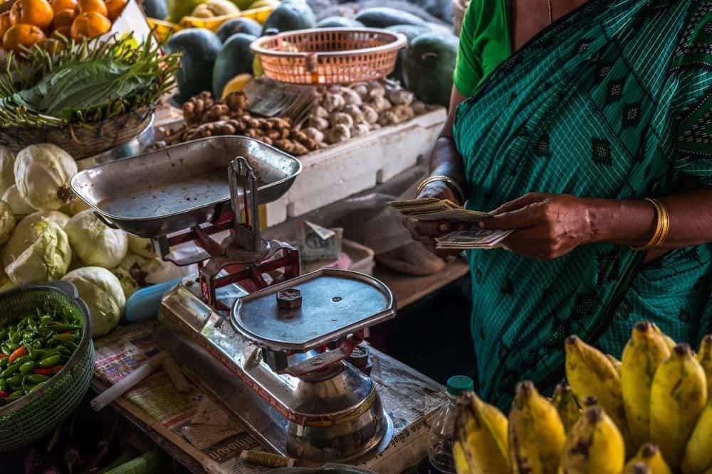 שוק, הודו, פירות