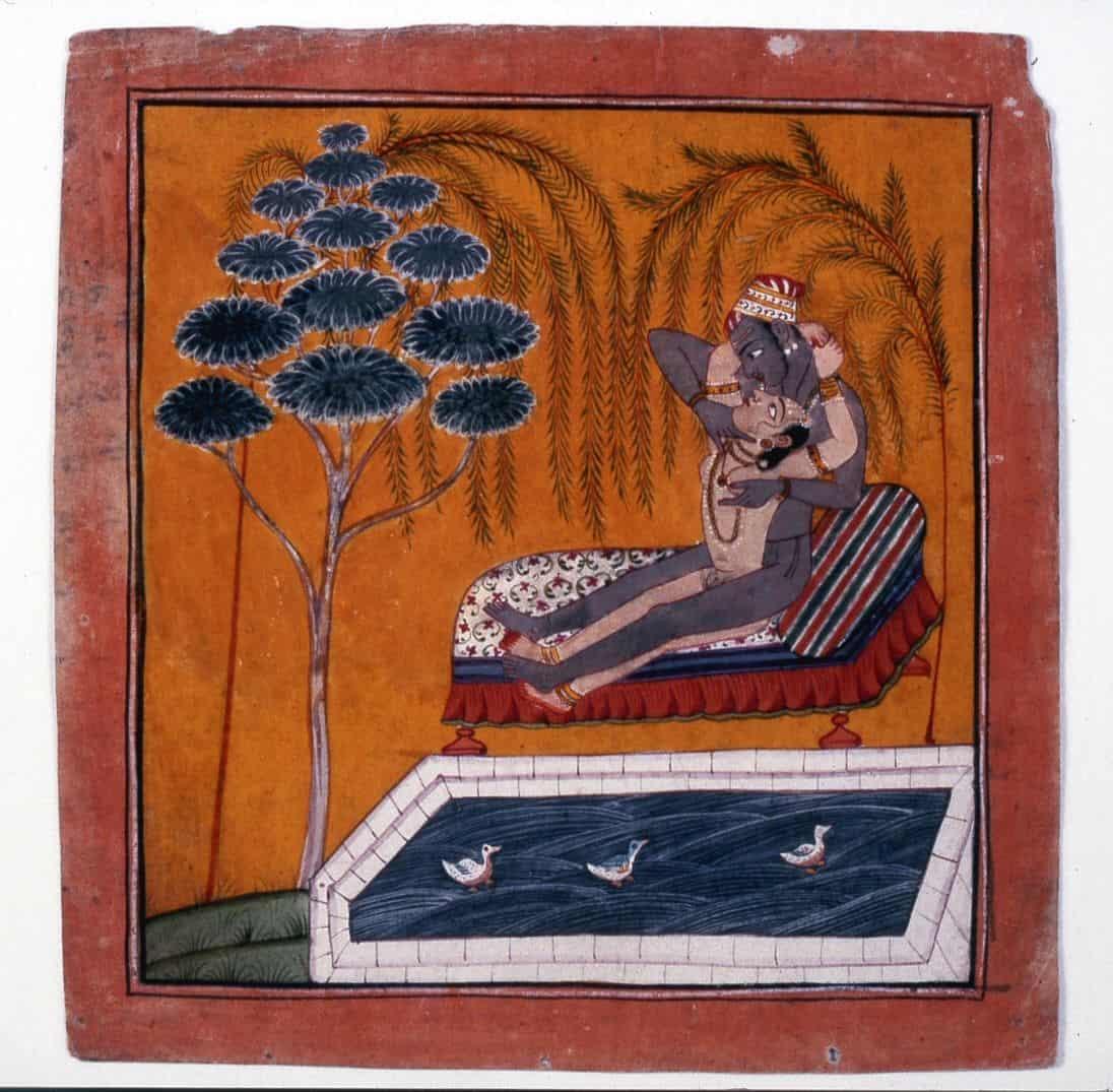 קאמה סוטרה, התעלסות, בריכה, הודו