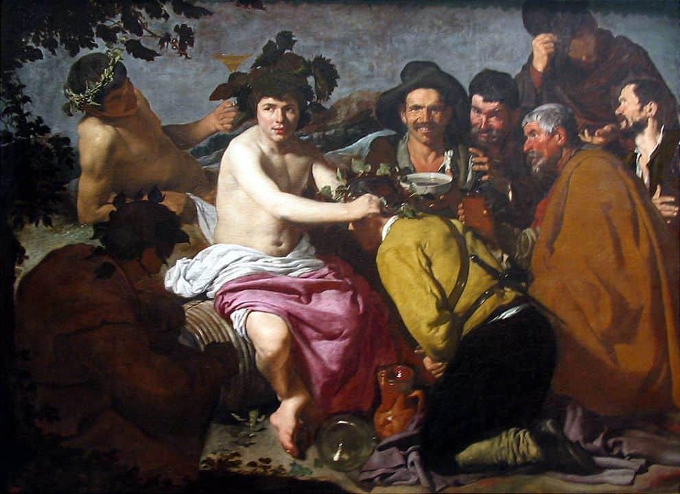 השיכורים או נצחונו של בכחוס, דייגו ולאסקס