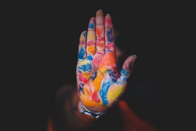 יד, צבע, הודו, אישה