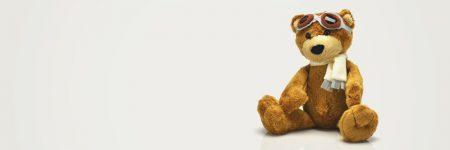 דוב פרווה, משקפי טיסה