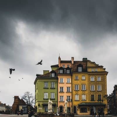 ורשה, עננים