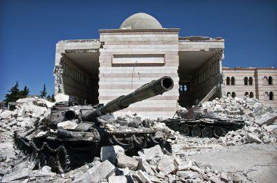 סוריה, עזאז, טנקים, מלחמת אזרחים