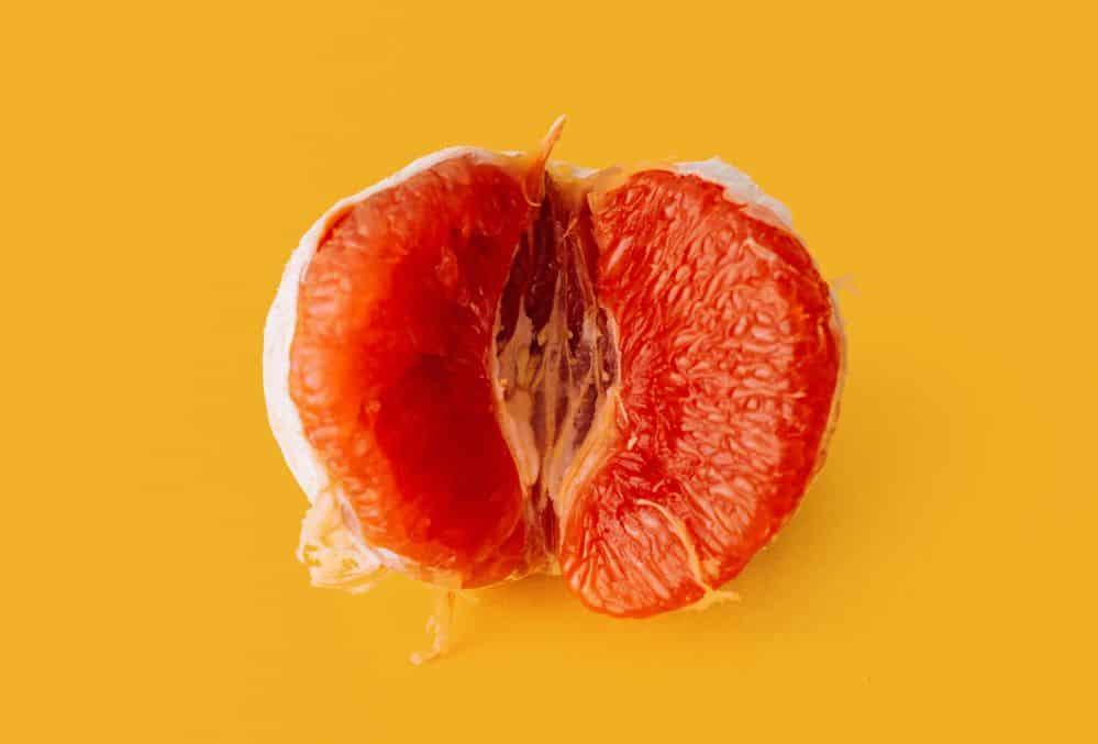תפוז, פות