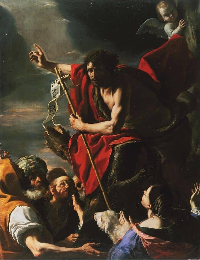 יוחנן המטביל, מתיא פרטי