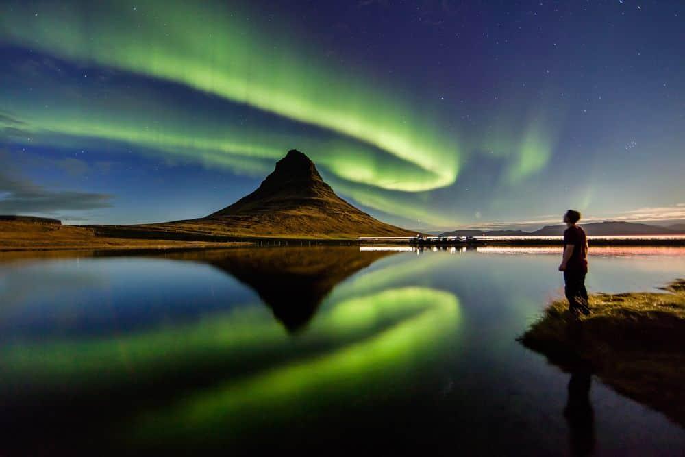 אורורה בוריאליס, איסלנד