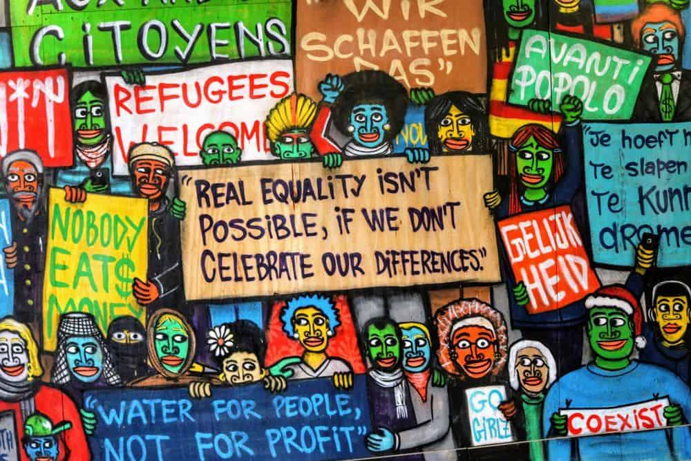 גנט, בלגיה, דמוקרטיה, מחאה, מעורבות אזרחית