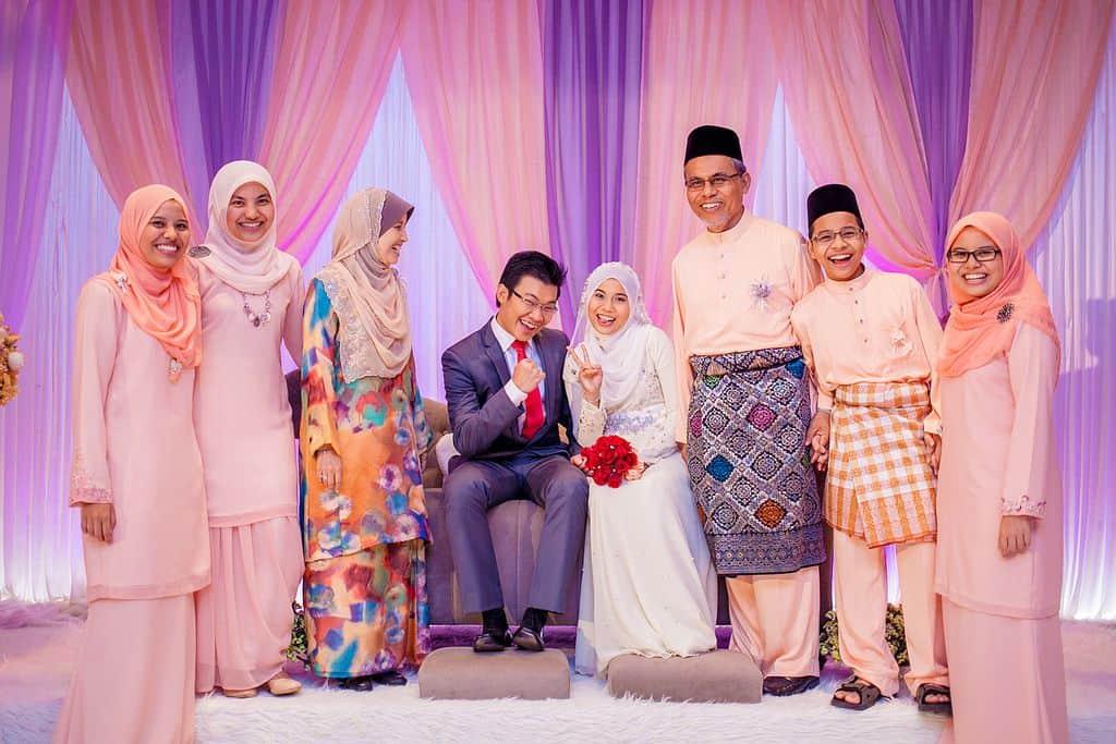 מלזיה, חתונה, קבלת פנים