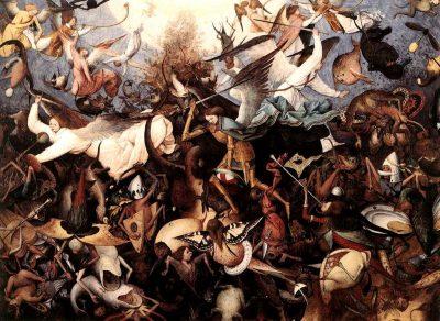 נפילת המלאכים המורדים, ברויגל
