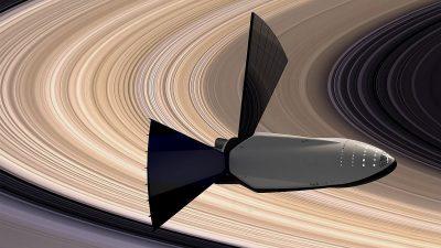 סםינת חלל בין כוכבית, SpaceX, שבתאי